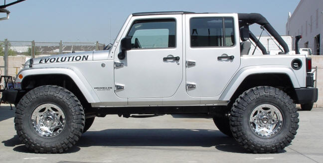 Unlimited. 4″ Full Traction Lift and 37″ BFG Krawler Tires