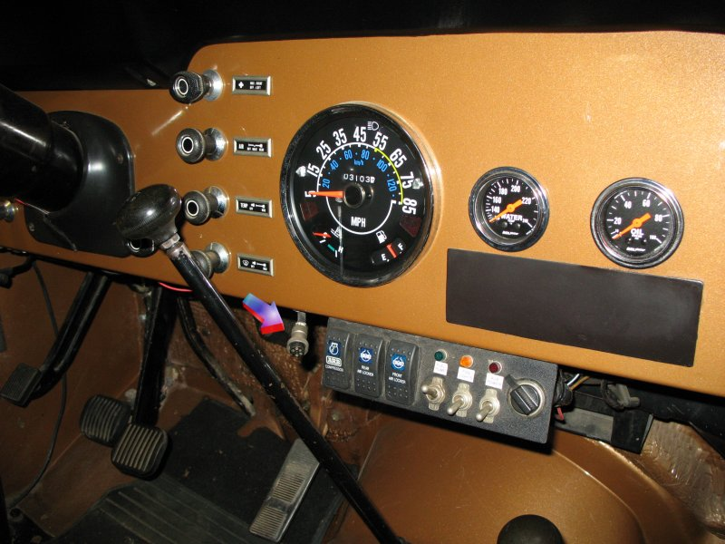 Cobra 75 Wx All In Handset Cb Radio In A Jeep Wrangler