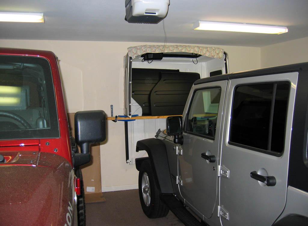 4 Door Wrangler Jk Freedom Top Hanger Diy Jeepfan Com