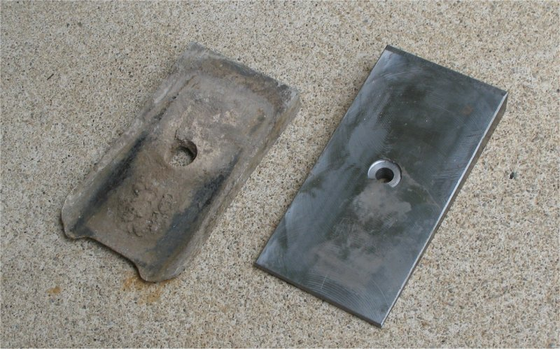 Steel Plate Wedges : Rubicon express leaf spring degree shims jeepfan