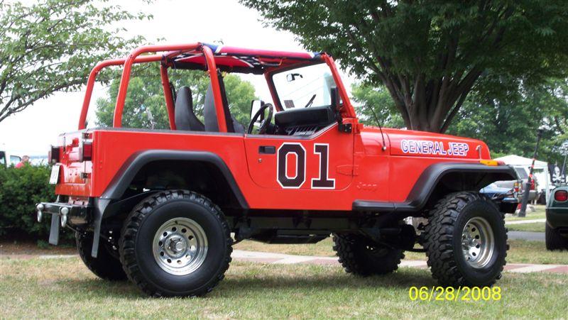 General jeep a dukes of hazzard style yj jeepfan com
