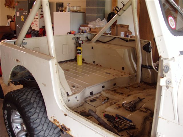 84 Cj 7 Rebuild Replacing Quarter Panels Custom Roll Bar