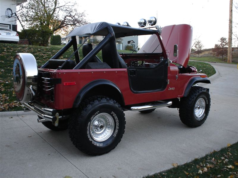 79 Jeep Cj 7 Amc 258 Quadratrac Turbo 400 Jeepfan Com