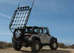 Custom Jeep Wrangler Roof Rack