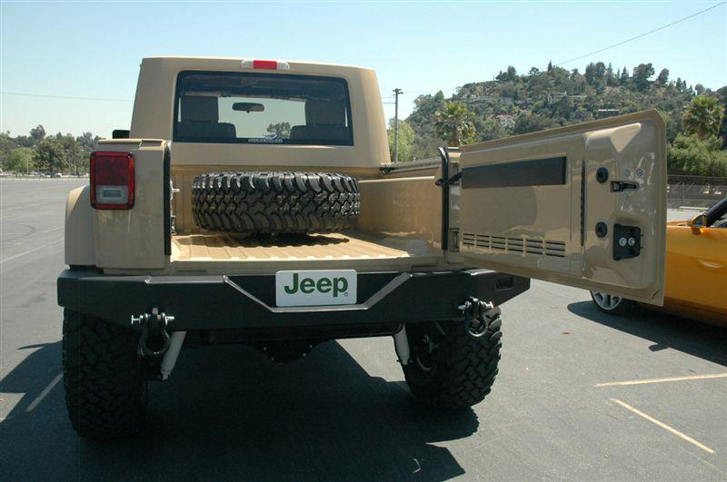 Jeep Wrangler Jt Concept Jeep Truck From Skunkwerks