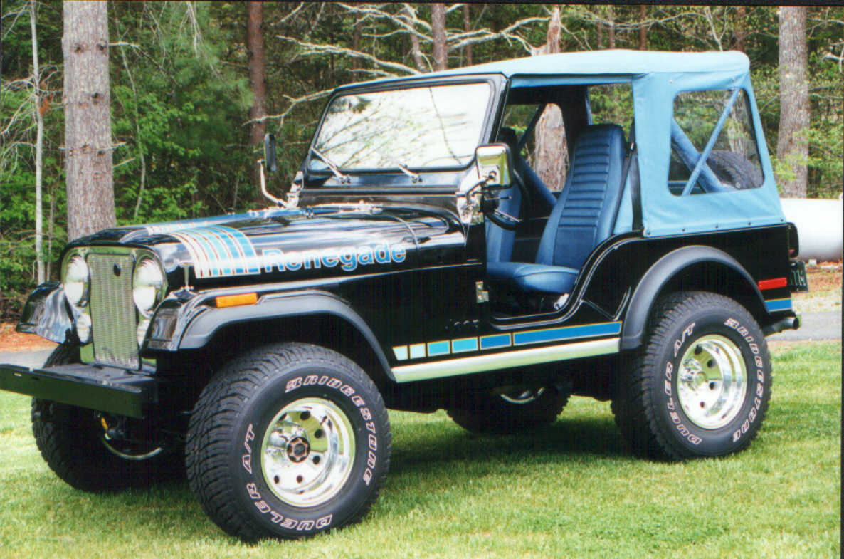 1975 Jeep CJ5 Renegade http://www.jeepfan.com/tech/cj-renegade-spotters-guide/
