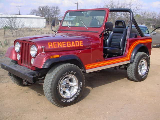 Cj Renegade Spotters Guide 1983 1986 Renegade Jeepfan Com
