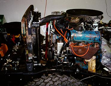 Jeep engine swaps conversion buick v6 buick 231 in a cj 2a sciox Gallery