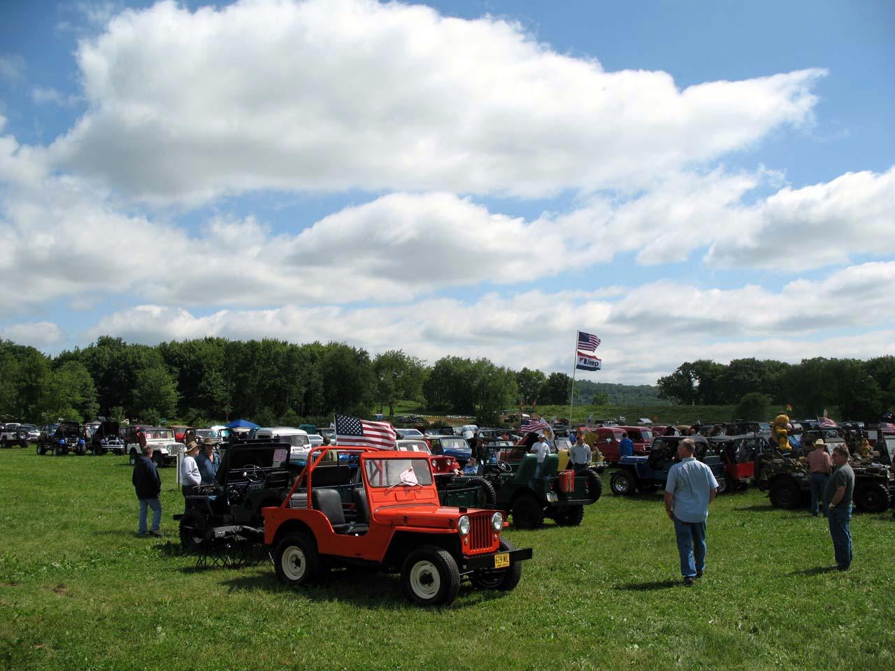2014 bantam jeep heritage festival show pictures jeepfan com