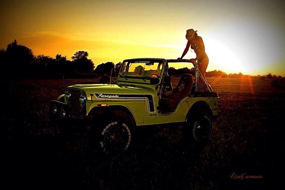 Jeep Wrangler Wheels >> Lisa Carman's 1974 CJ-5 Renegade V8 AMC   jeepfan.com