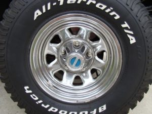 Factory Chrome Wagon Wheel