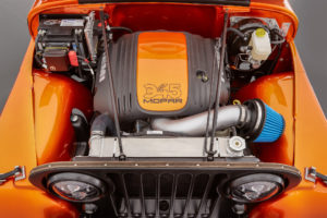 Mopar HEMI Swap in the Jeep CJ-66 Concept