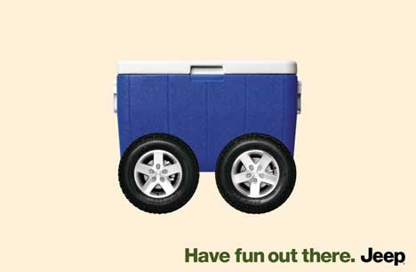 New Jeep Advertising Tagline: Have fun out there. Jeep | jeepfan.com