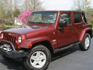 Christine's JK Before the Lift