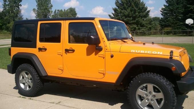2012 Jeep Wrangler Unlimited Rubicon Jk Dozer Color