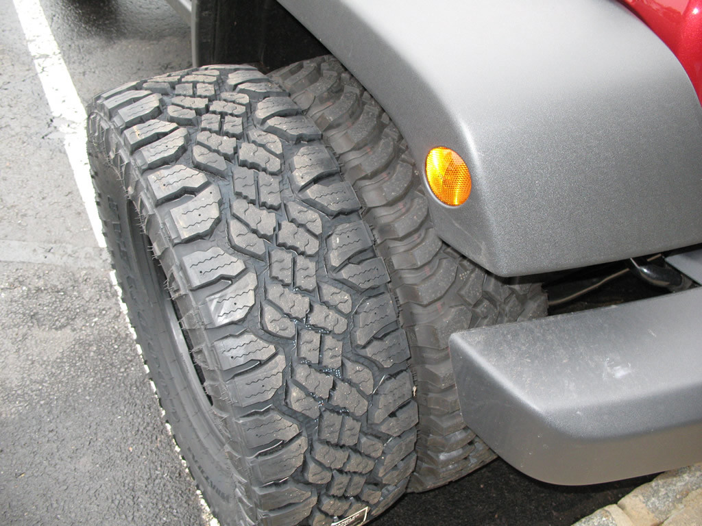 Goodyear Wrangler Duratrac 285 75r17 Tires Installed