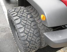 Goodyear Wrangler Duratrac 285/70R17 Tires Installation