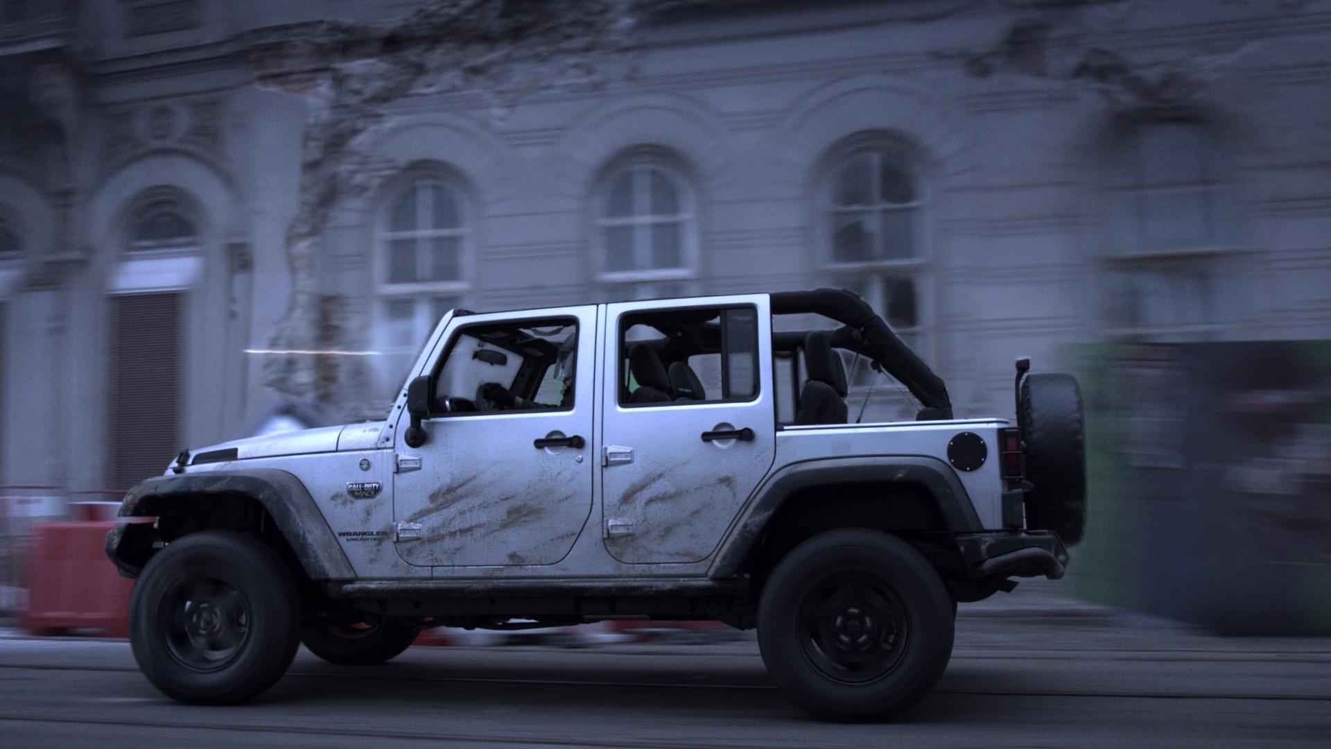 2012 Jeep Wrangler Call Of Duty Modern Warfare 3 Cod Mw3
