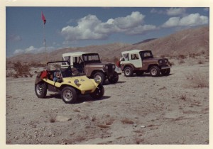 2 Jeeps and a Buggy