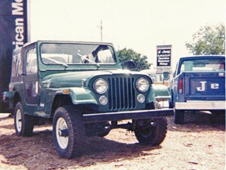 New Jeeps 1976