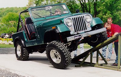 Glenn CJ-7 on RTI Ramp