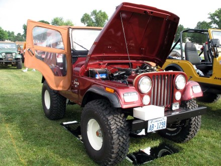 Bill Bonham's 1973 Jeep CJ-5