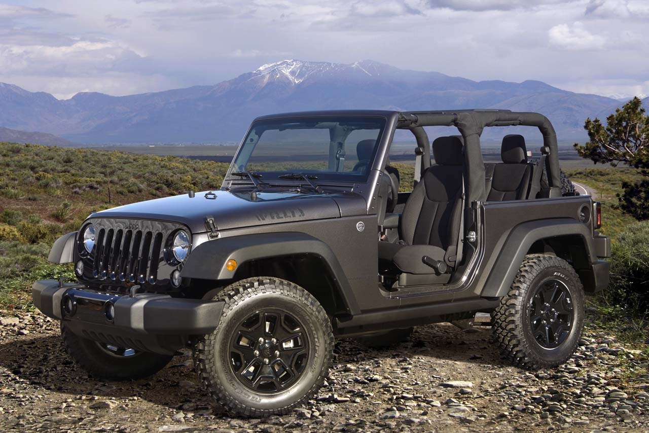 Jeep Jk Tires >> 2014 Jeep Wrangler Willys Special Edition | jeepfan.com