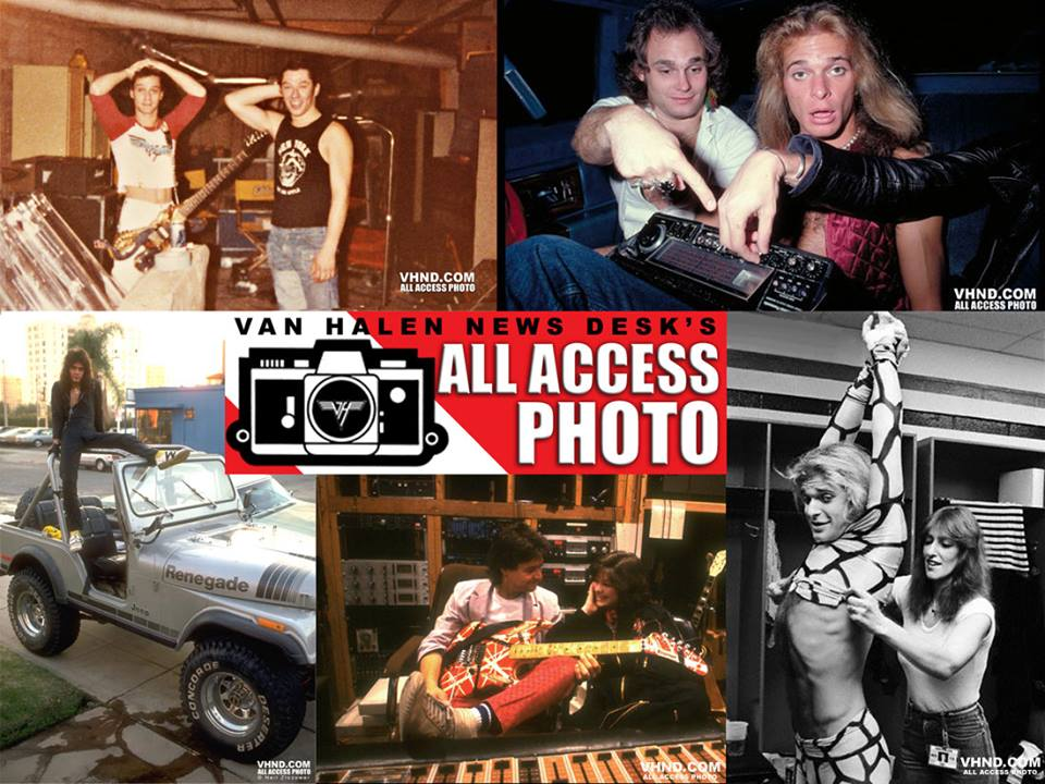 Eddie Van Halen On A Cj 5 Jeepfan Com