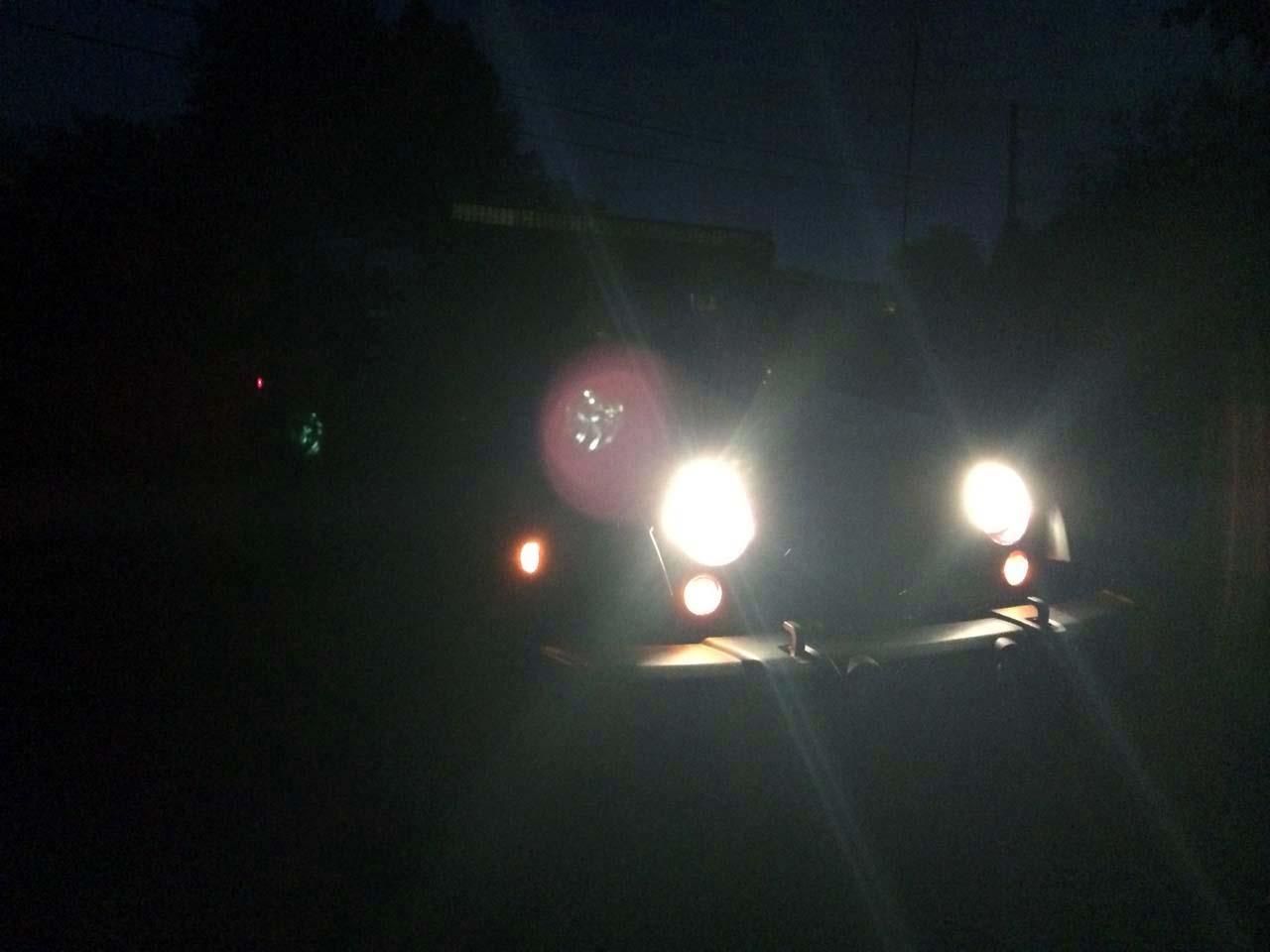Wrangler Jk Raxiom Light Bar Installation Night Testing