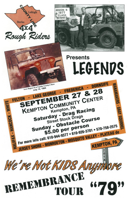 County Line 4×4 Legends Tour 2014