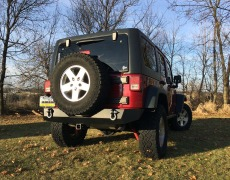 Barricade Trail Force HD Rear Bumper Install