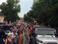 Bantam Jeep Heritage Festival 2015 - Parade & Invasion