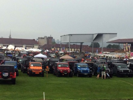 PA Jeeps All Breeds Jeep Show 2015