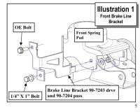 Pro Comp Bracket Diagram