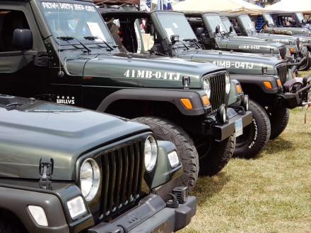 PA Jeeps All Breeds Jeep Show 2016
