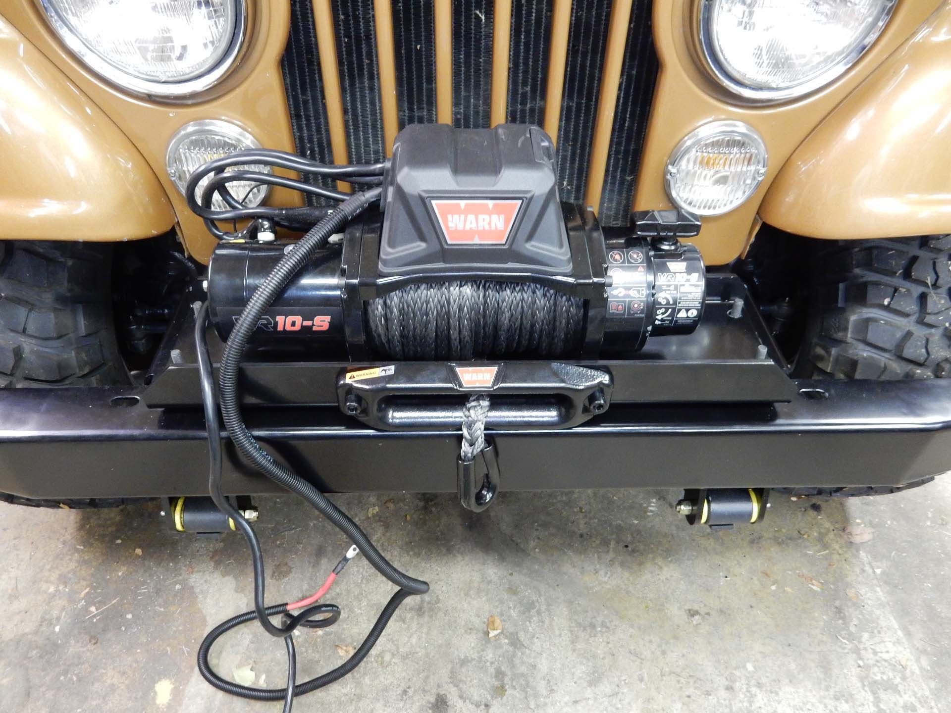 Wiring A Winch To Jeep Download Diagrams Warn Vr10s Installation On Cj How Jeepfan Com Tj