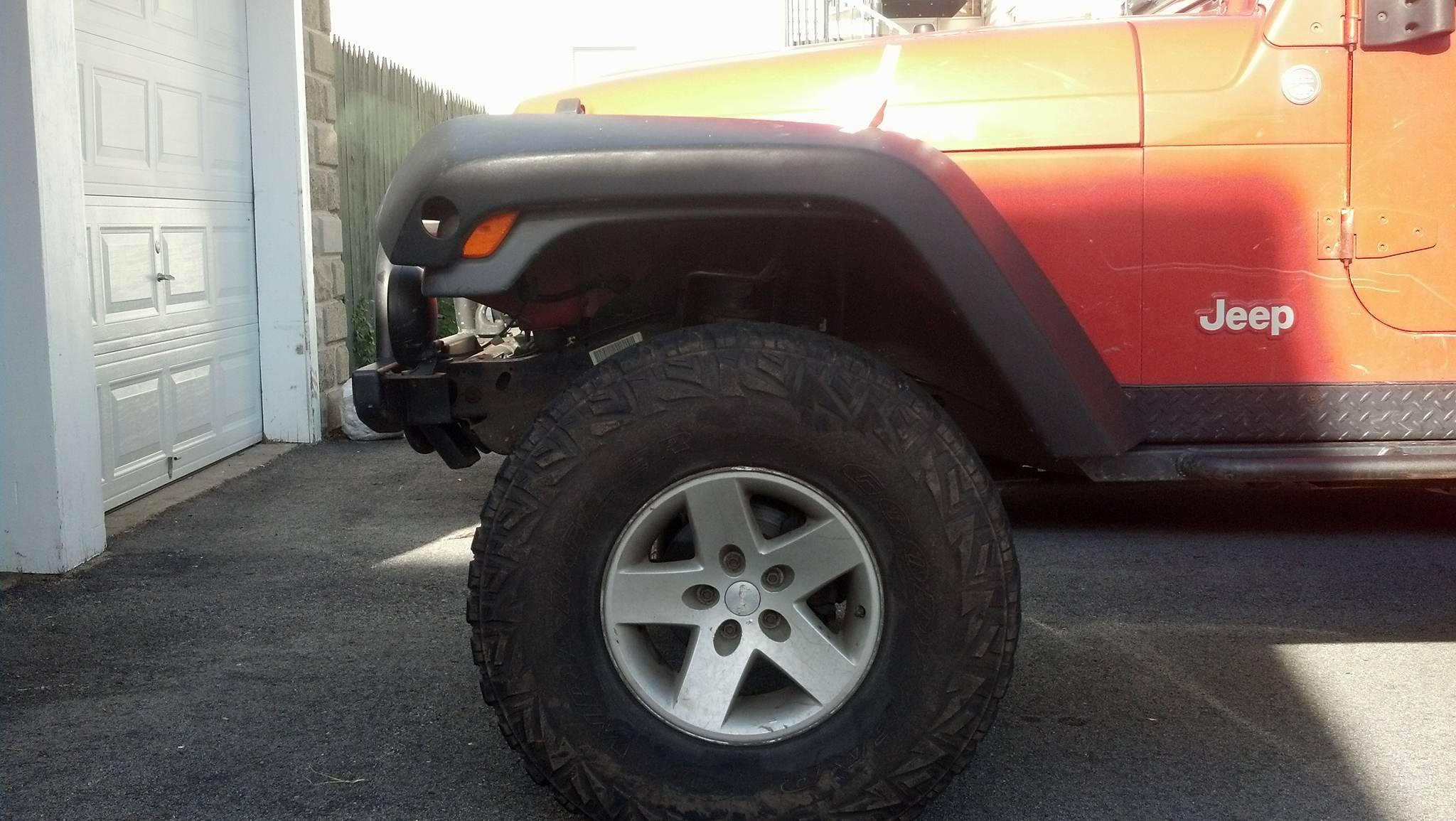 John S Wrangler Tj Custom Jk Flares Jeepfan Com