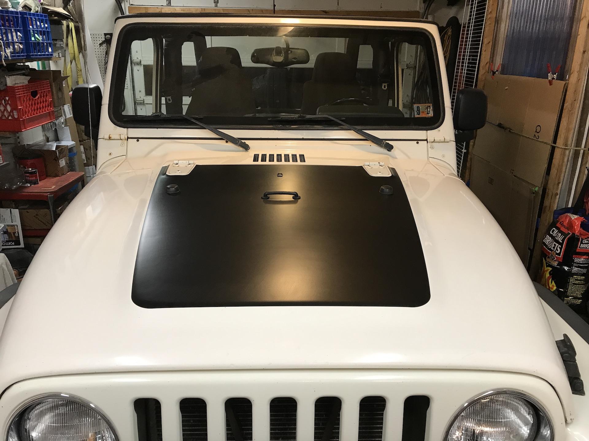 quadratec tj hood decal | jeepfan