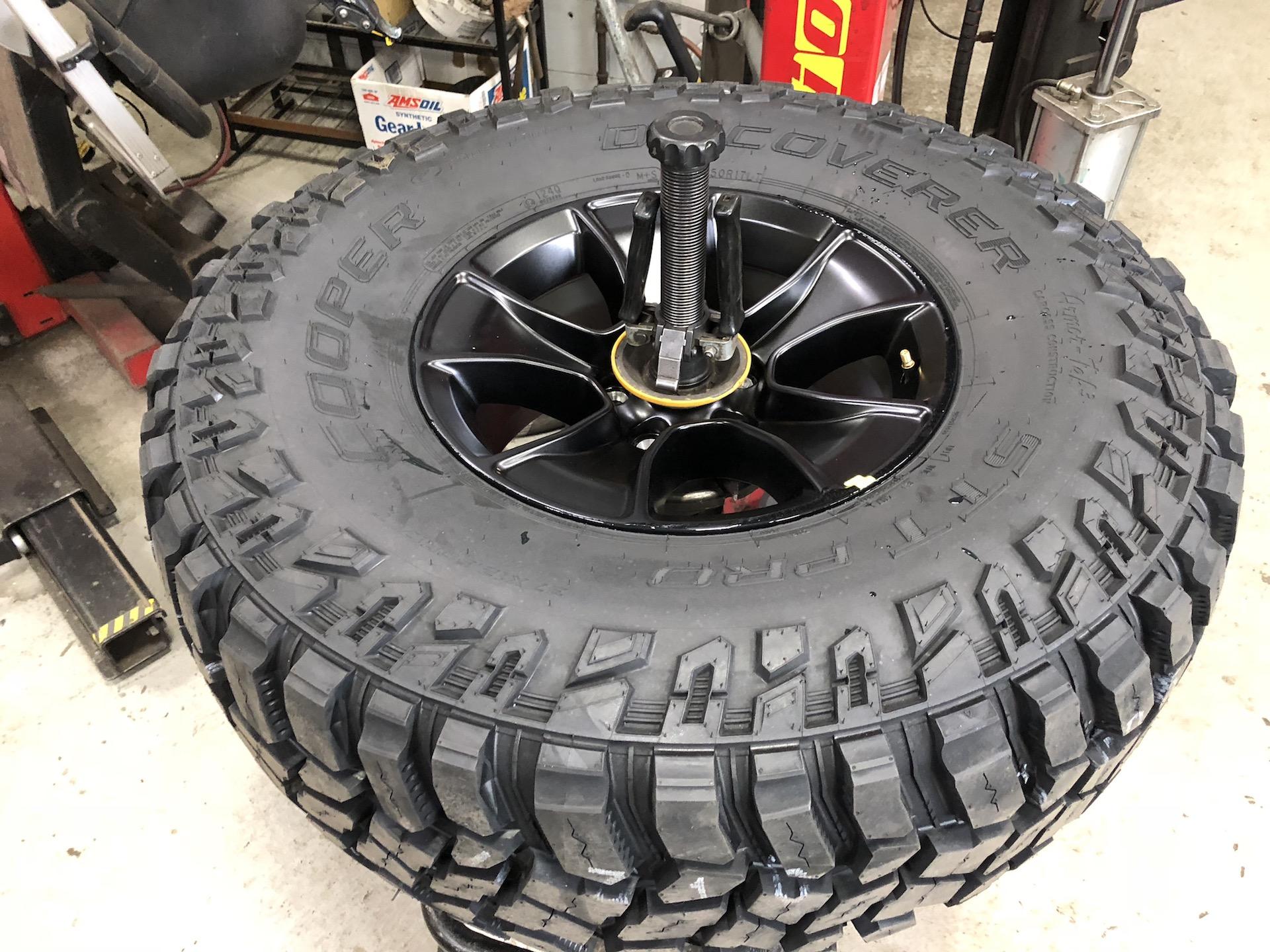 37 inch cooper stt pro tires for the jl. Black Bedroom Furniture Sets. Home Design Ideas