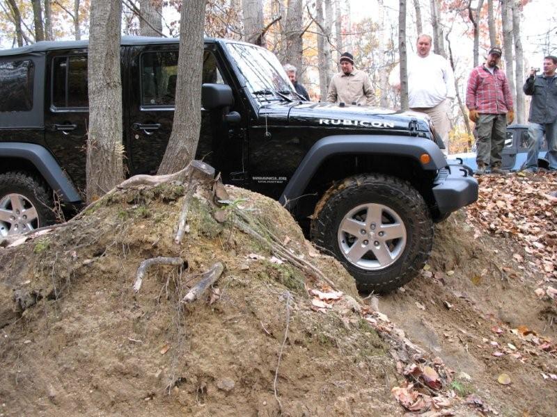 Rausch Creek Trail Run November 2007 Jeep Mud Rocks Woods