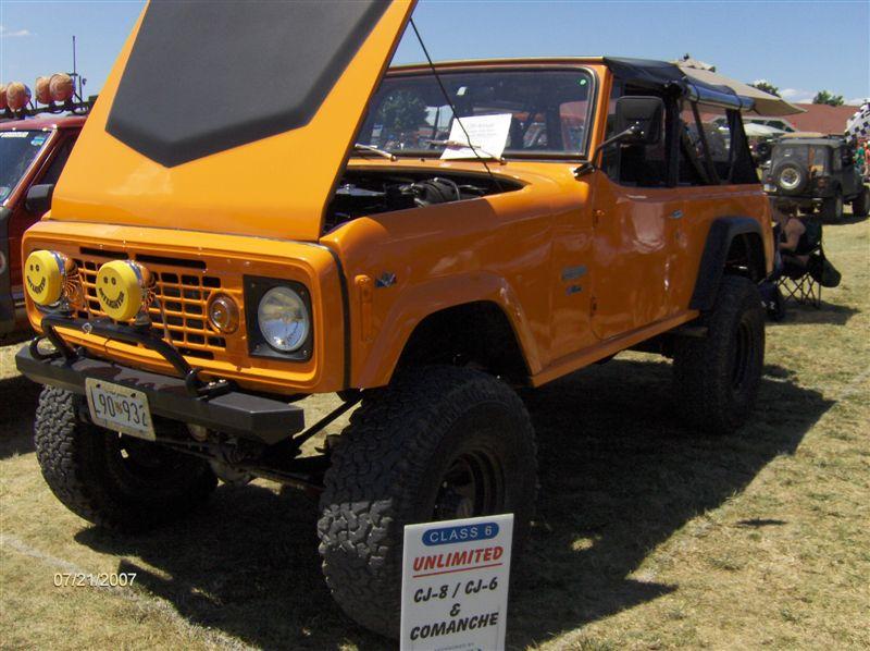 Orange Jeep Commando 2007 PA Jeep Show Favorite | jeepfan.com
