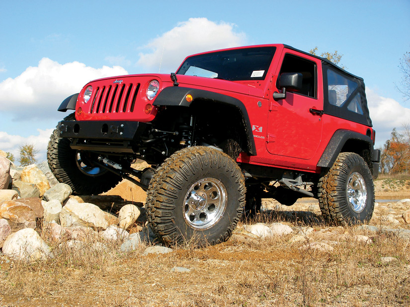 & BDS Long Arm Suspension Lift Kits for JK Wrangler and Wrangler Unlimited