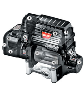 warn powerplant dual force winch and compressor combination. Black Bedroom Furniture Sets. Home Design Ideas