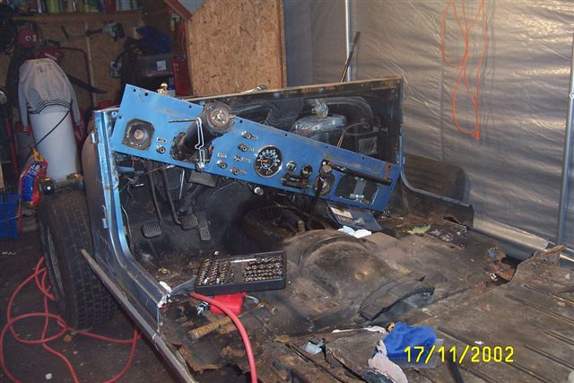 Rich S 84 Cj 7 Frame Up Restoration Jeepfan Com
