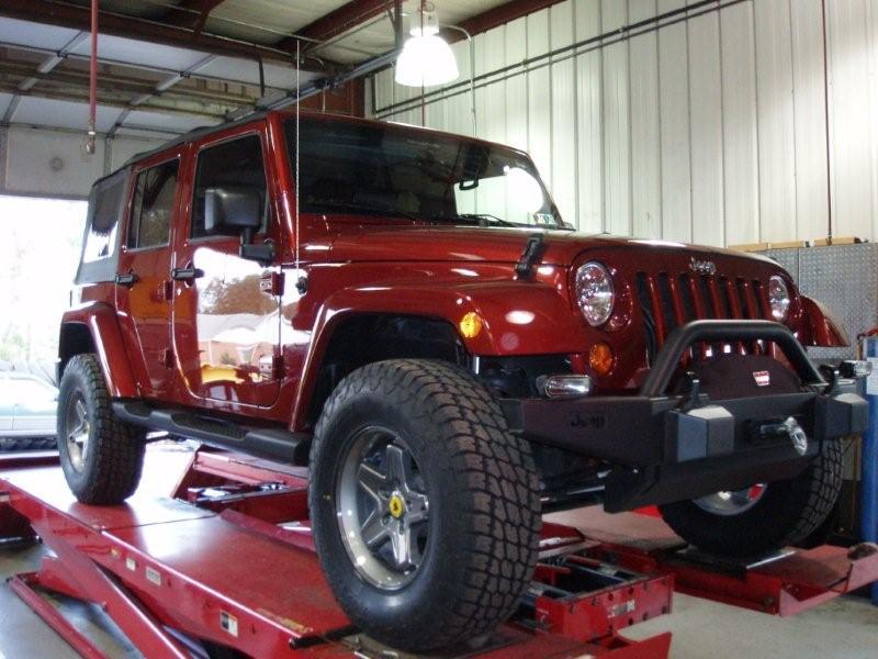Tj Auto Sales >> Christine's JK – BDS Lift, Terra Grappler Tires, and AEV ...