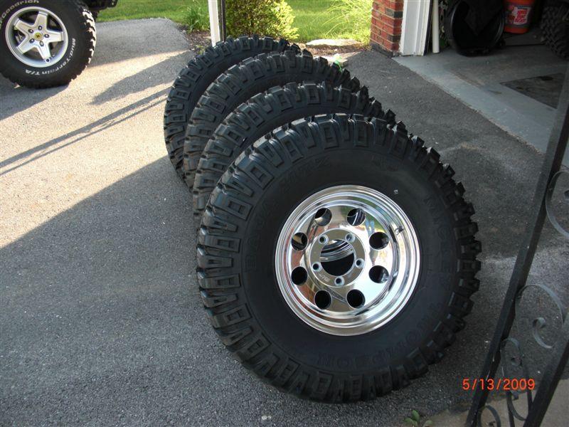 Used White Letter Tires