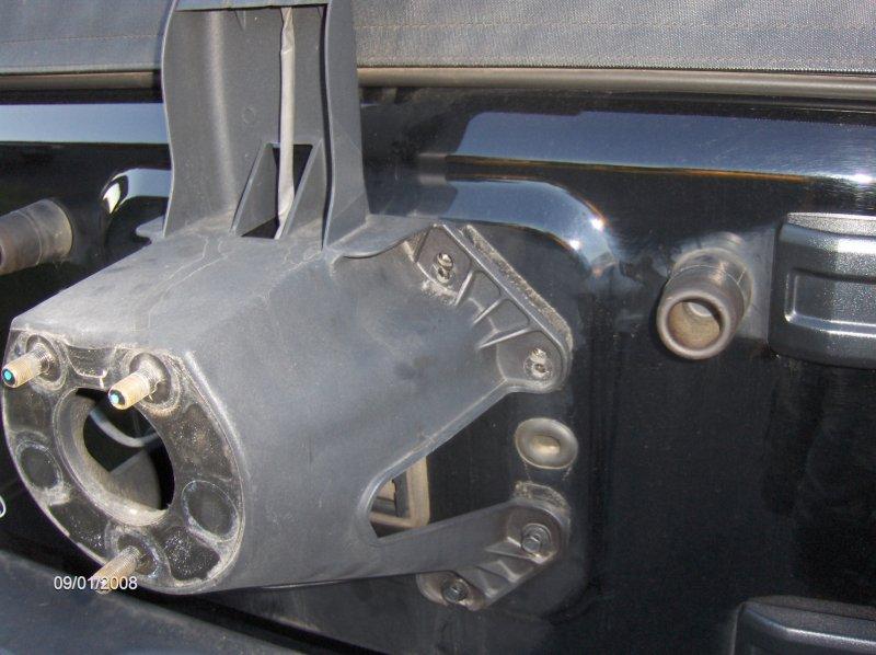 Tera Flex JK Wrangler CB Antenna Mount | jeepfan.com