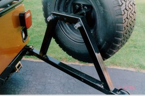 Jeep Spare Tire Carrier Fabrication Diy Jeepfan Com
