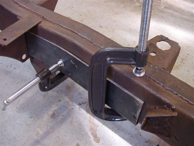 Jeep Cj 5 Frame Replacement Por 15 Rust Proof