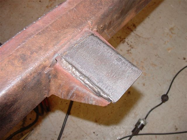 Jeep CJ-5 frame replacement, POR-15, rust proof, fabrication